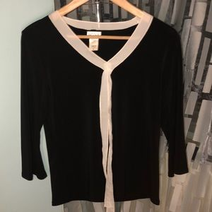EUC Nicola Top with bow detail